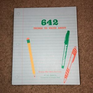 book: 642 things to write about